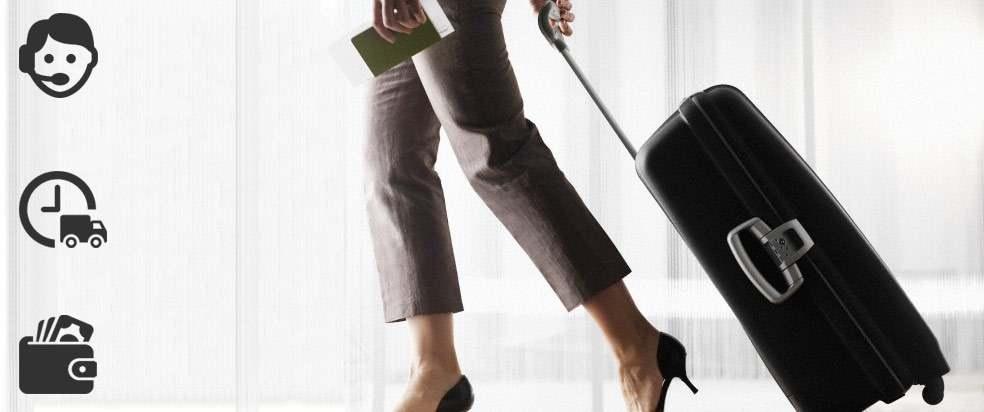 как да пазаруваме куфари от estilbags.com